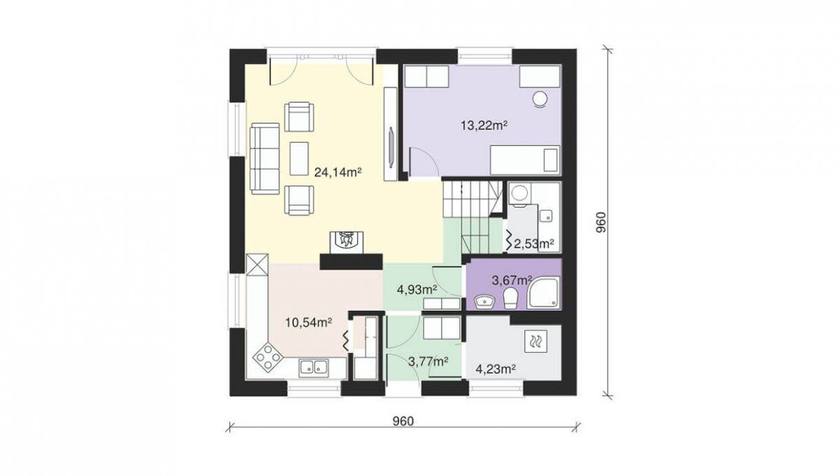 katalogovy-projekt-rodinny-dom-trendhouse-TRD-145-podorys-2