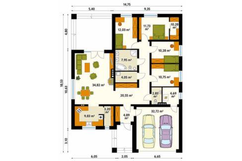 rodinny-dom-trendhouse-bungalov-dom-trd---215-podorys
