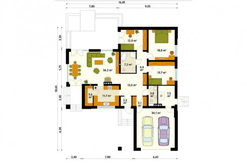 rodinny-dom-trendhouse-bungalov-dom-trd---216-podorys