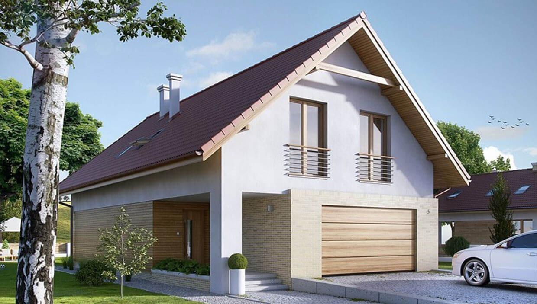 Dvojpodlažný dom TRD-217
