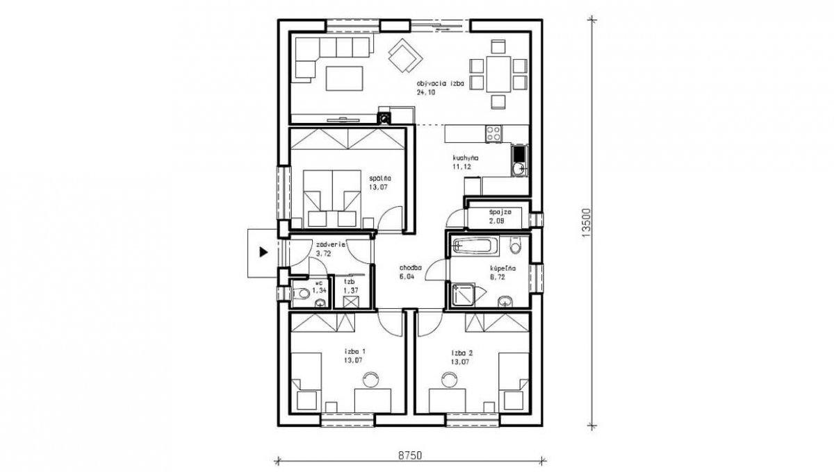 rodinny-dom-trendhouse-bungalov-trd---123-podorys