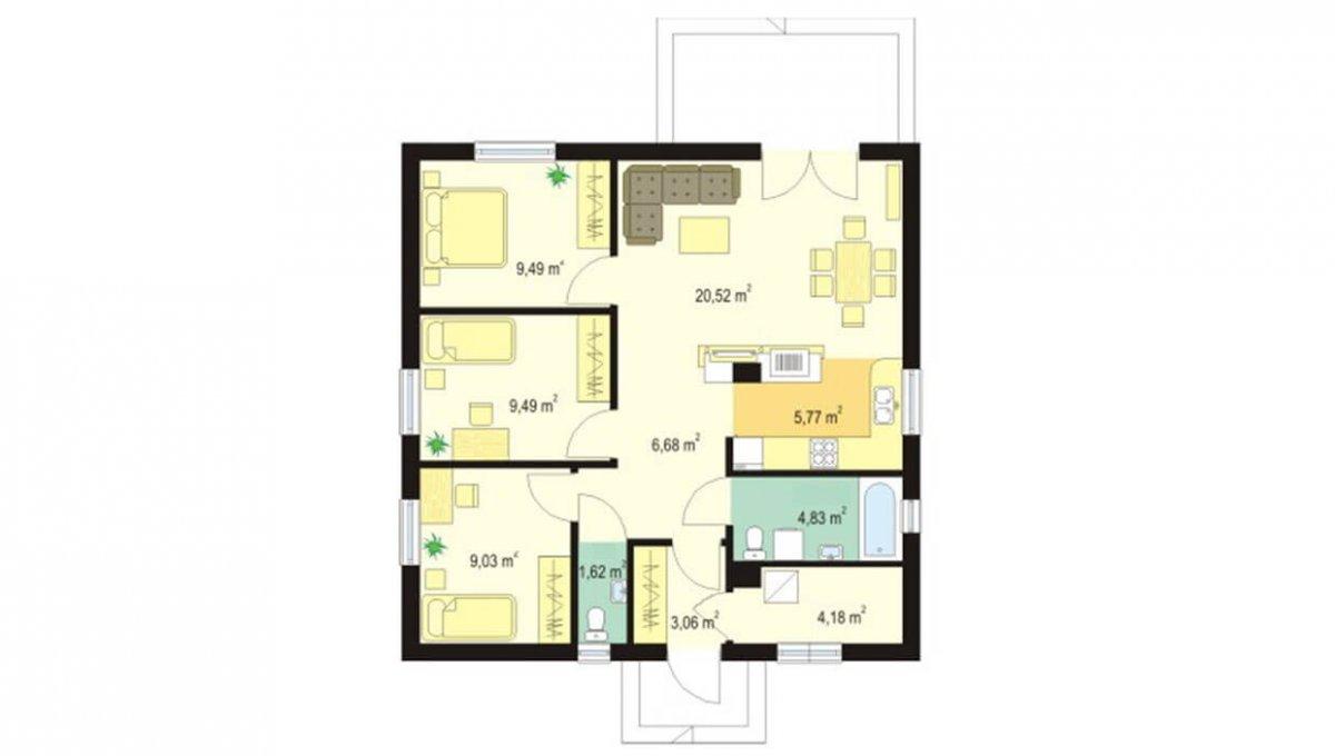 rodinny-dom-trendhouse-bungalov-trd---129-podorys