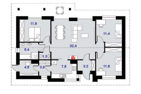 rodinny-dom-trendhouse-bungalov-trd---135-podorys