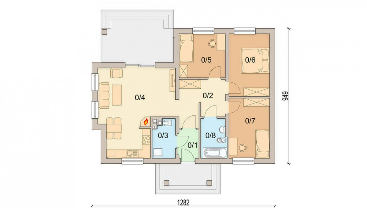 rodinny-dom-trendhouse-bungalov-trd---137-podorys