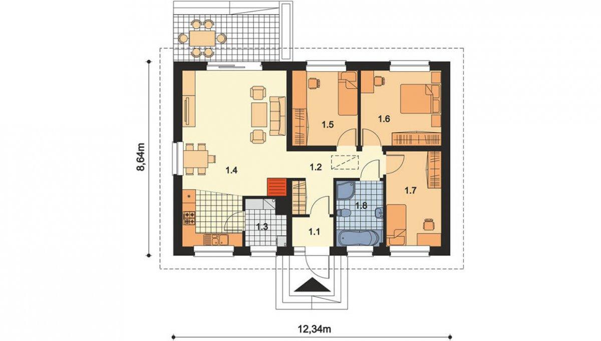 rodinny-dom-trendhouse-bungalov-trd---138-podorys