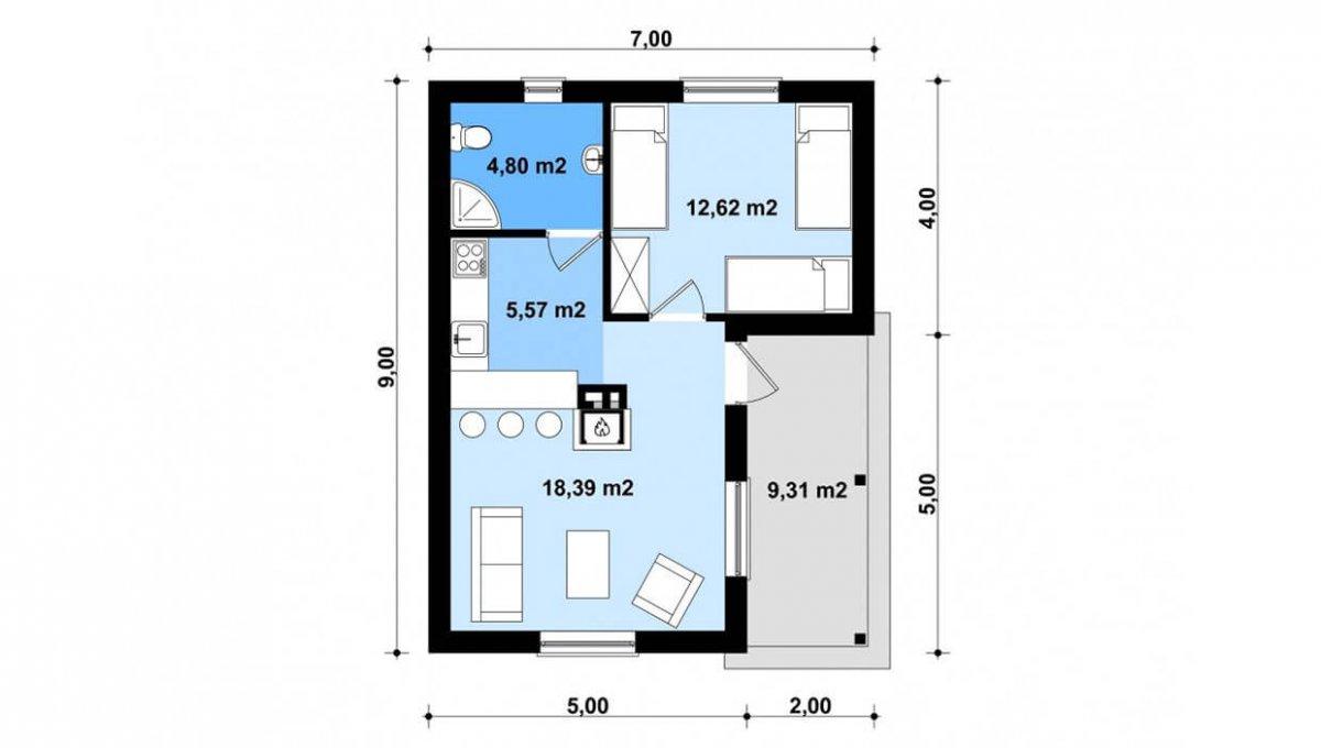 rodinny-dom-trendhouse-bungalov-trd---140-podorys