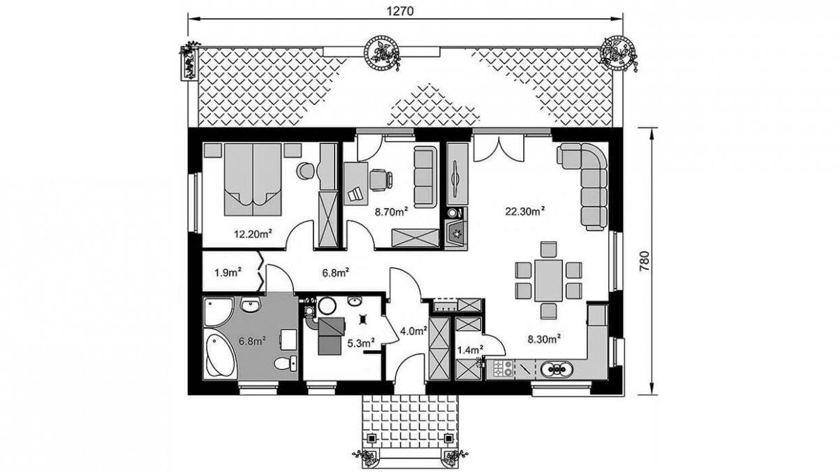 rodinny-dom-trendhouse-bungalov-trd---154-podorys