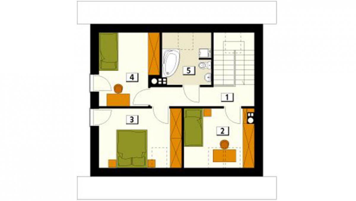 rodinny-dom-trendhouse-dvojposchodovy-dom-trd---121-podorys-podlazie