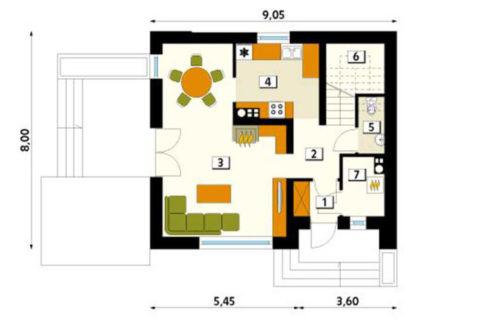 rodinny-dom-trendhouse-dvojposchodovy-dom-trd---121-podorys-prizemie