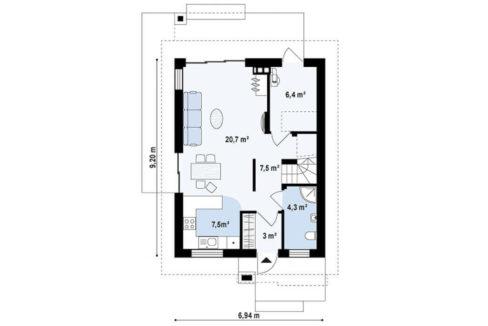 rodinny-dom-trendhouse-dvojposchodovy-dom-trd---147-podorys-prizemie