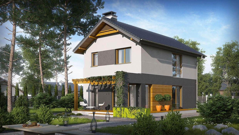 Dvojpodlažný dom TRD-147