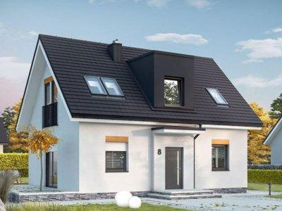 Dvojpodlažný dom TRD-163